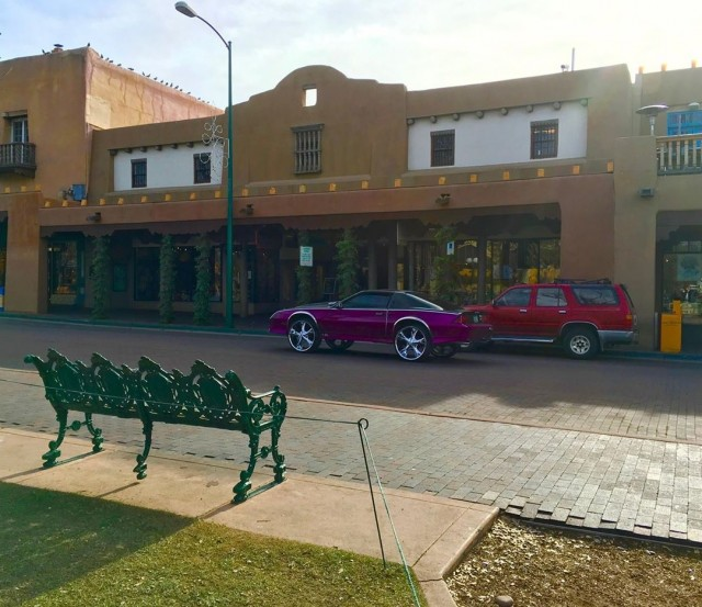 Cars Cruising in Santa Fe
