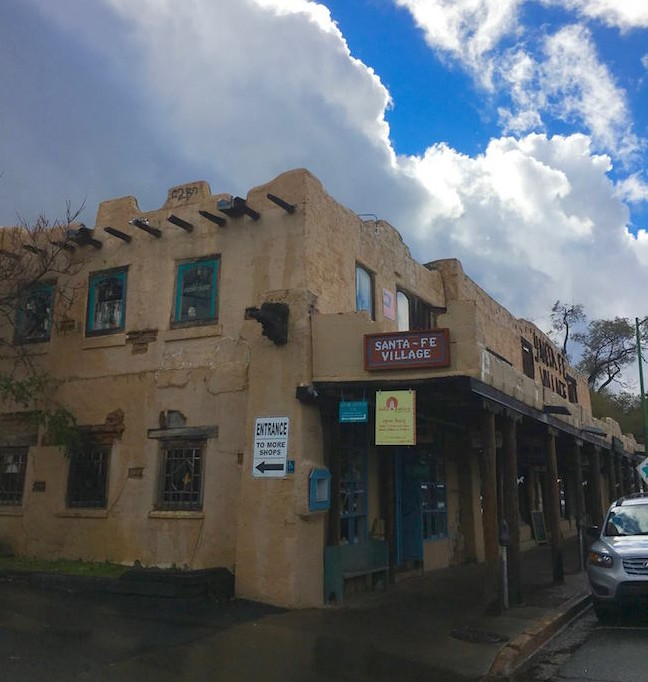 Street Scene Santa Fe