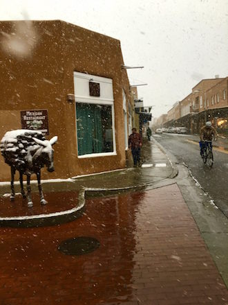More snow Santa Fe 11-16-2015