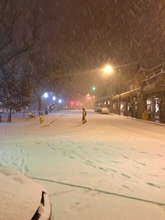 Monday Snow Santa Fe