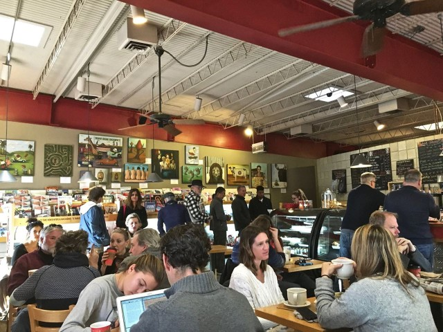 Downtown Subscription Coffee Shop Santa Fe