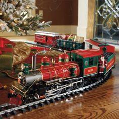 Train set for Christmas