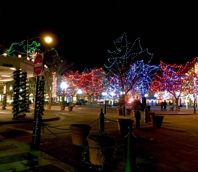 Santa Fe NM Christmas 2015