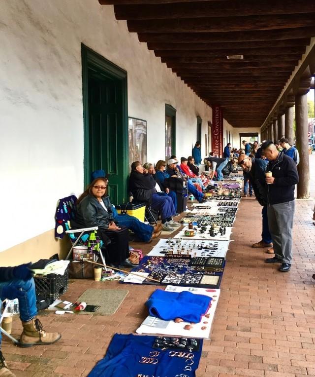 Street Vendor Santa Fe