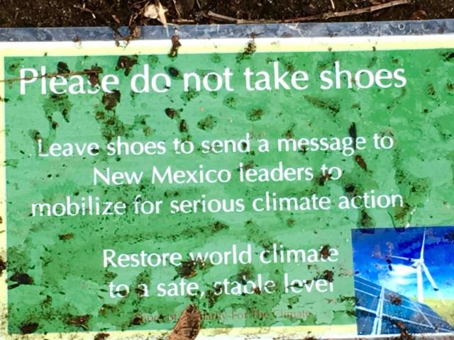 Shoes in Park Santa Fe