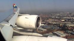 Approaching Johannesburg