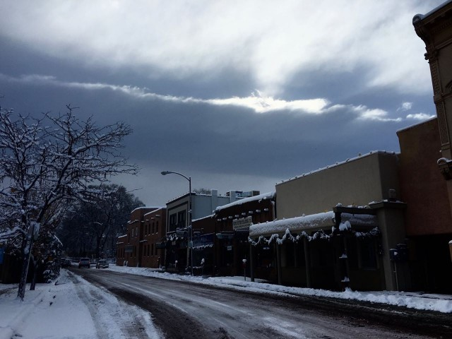 Sunday in Santa Fe December 13
