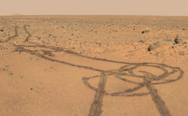 Rover Penis on Mars